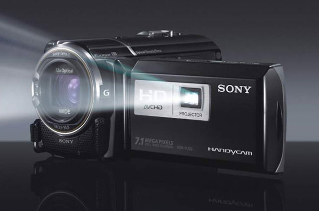 Sony-Projector-Handycam