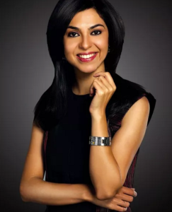Shireen Bhan CNBC TV anchor India